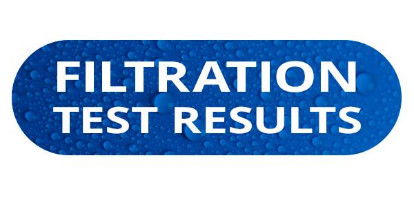 FILTRATION Test Results